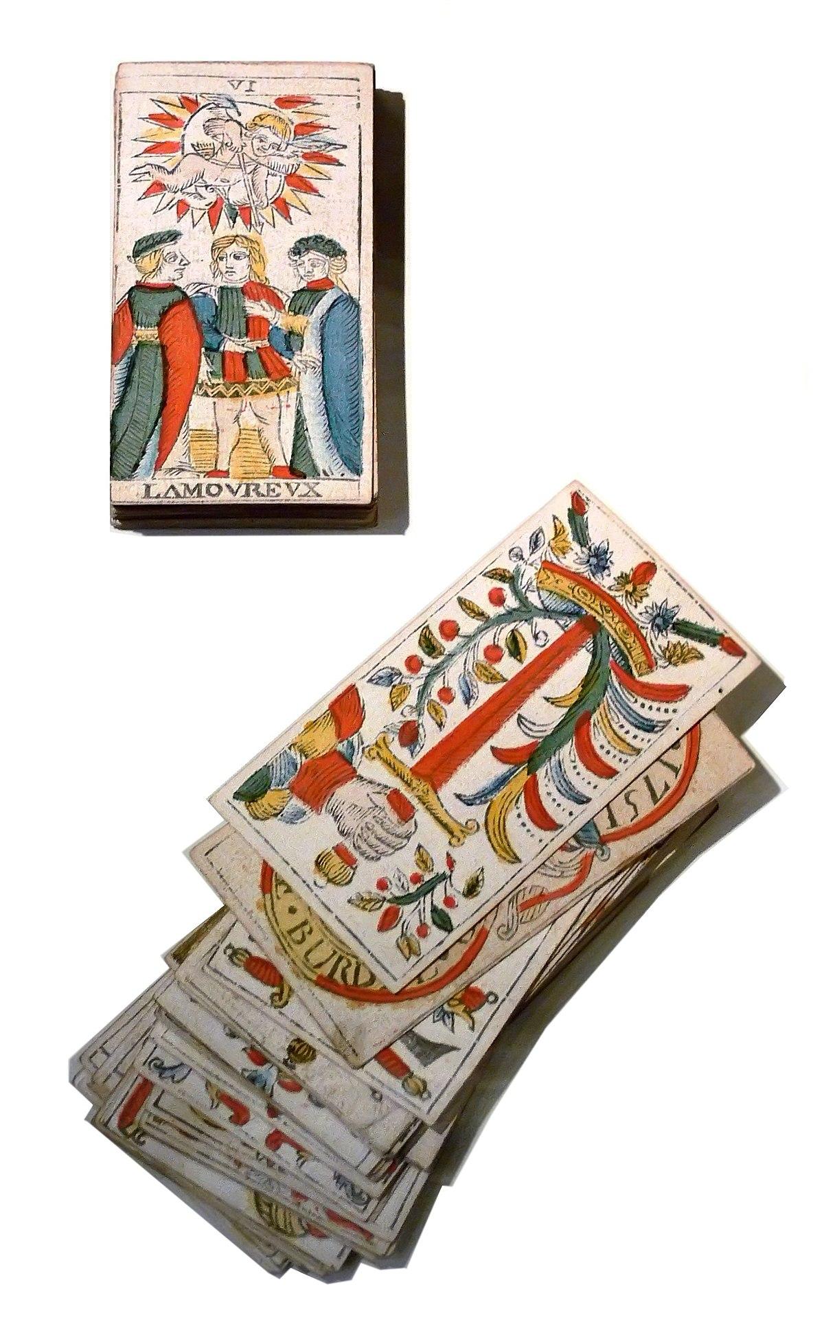 Tarot of Marseilles - Wikipedia