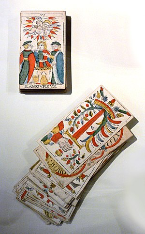 Tarot of Marseilles - Cards from 1751