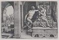 Tarquinius Rapes Lucretia, from Scenes from Roman History MET DP855498.jpg