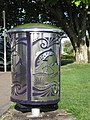 Taupo's amazing trout-motiffed trash cans - panoramio.jpg