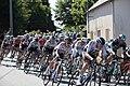 Team Sky, front of the Peloton, Tour de France 2018 at St Mayeux (42653101094).jpg
