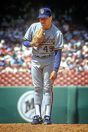 Teddy Higuera - Higuera in 1991