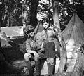 Tent, scouting Fortepan 55930.jpg