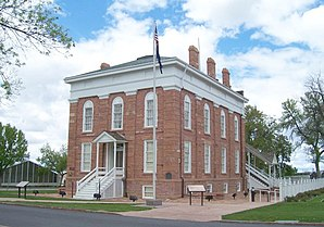 Das Territorial Statehouse in Fillmore