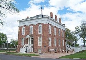 Utah Territorial Statehouse - Image: Territorial Statehouse in Fillmore Utah
