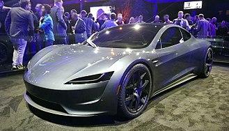Tesla Roadster (2020) - Image: Tesla roadster 2020 prototype