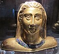 Tesoro di s.m. della scala, busto reliquiario di s. cristina, inizio Xv sec.JPG