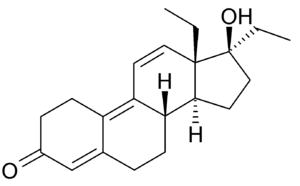 Tetrahydrogestrinone - Image: Tetrahydrogestrinone