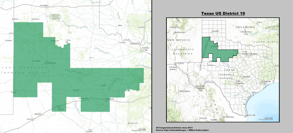 Texas Th Congressional District Wikipedia - Texas us house district map