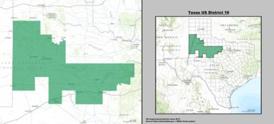 Texas's 19th congressional district - since January 3, 2013.