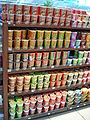 Thai instant noodles for sale- different brands.JPG