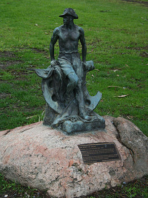Johnstone Park - Image: The spirit of anzac geelong