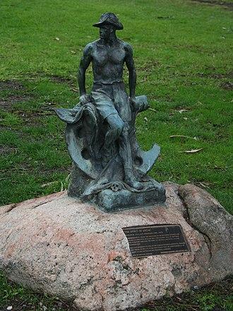 Johnstone Park - Image: The spirit of anzac geelong
