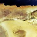 The Al Kufrah Oasis in southeastern Libya is shown in this Envisat image ESA206420.tiff