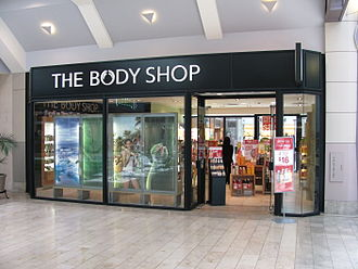 The Body Shop - The Body Shop in the Prudential Center in Boston