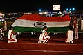 The Children holding the National Flag at the opening ceremony of 3rd Commonwealth Youth Games-2008, in Pune on October 12, 2008.jpg