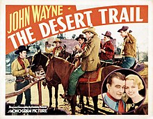 Description de l'image The Desert Trail (1935) poster 1.jpg.