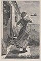 The Dinner Horn – Drawn by Winslow Homer (Harper's Weekly, Vol. XIV) MET DP875256.jpg