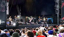 The Distillers na festivalu v Leedsu, 2004