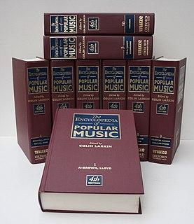 <i>Encyclopedia of Popular Music</i> Book by Colin Larkin