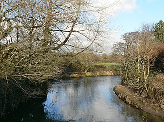 Ewenny River - The river at Ewenny, the village to which it gave its name.