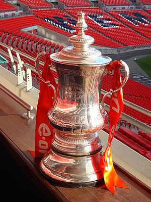The Football Association - The FA Cup trophy used from 1992 to 2013