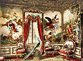 The Gobelin Tapestries, Linderhof Palace, Upper Bavaria, Germany, ca. 1895.jpg