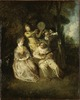 The Italian Serenade (Antoine Watteau) - Nationalmuseum - 22701.tif