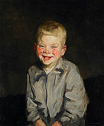 Robert Henri: The Laughing Boy (Jopie van Slouten)