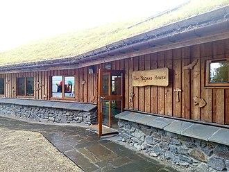 Magnus Magnusson - Magnus House near Aigas