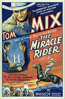 <i>The Miracle Rider</i> 1935 film by B. Reeves Eason, Armand Schaefer