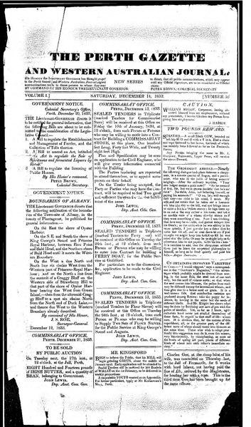 File:The Perth Gazette and Western Australian Journal 1(50).djvu