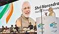 The Prime Minister, Shri Narendra Modi addressing at the Maritime India Summit, in Mumbai.jpg