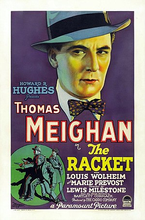 The Racket (1928 film) - The Racket poster.