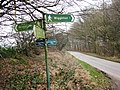 The Road to Tring where it crosses the Chiltern Way. - geograph.org.uk - 1184672.jpg