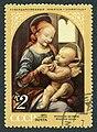 The Soviet Union 1971 CPA 4018 stamp (Benois Madonna (Leonardo da Vinci)) cancelled.jpg