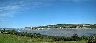 River Teifi - The estuary of the Teifi, between Poppit Sands and Gwbert
