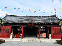 The Temple of the Town Deity in Nantong 08 2013-01.JPG