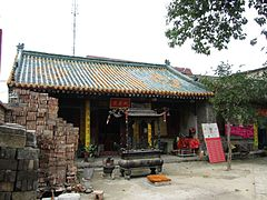 The Temple of the Town Deity in Weinan 02 2012-09.JPG