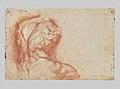 The Virgin Adored by Saints (recto); Study of the Torso Belvedere (verso) MET RBS C034Verso.jpg