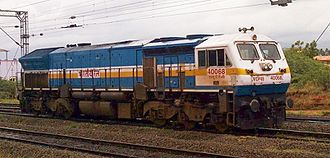 EMD GT46PAC - The WDP-4B class variant of GT46PAC