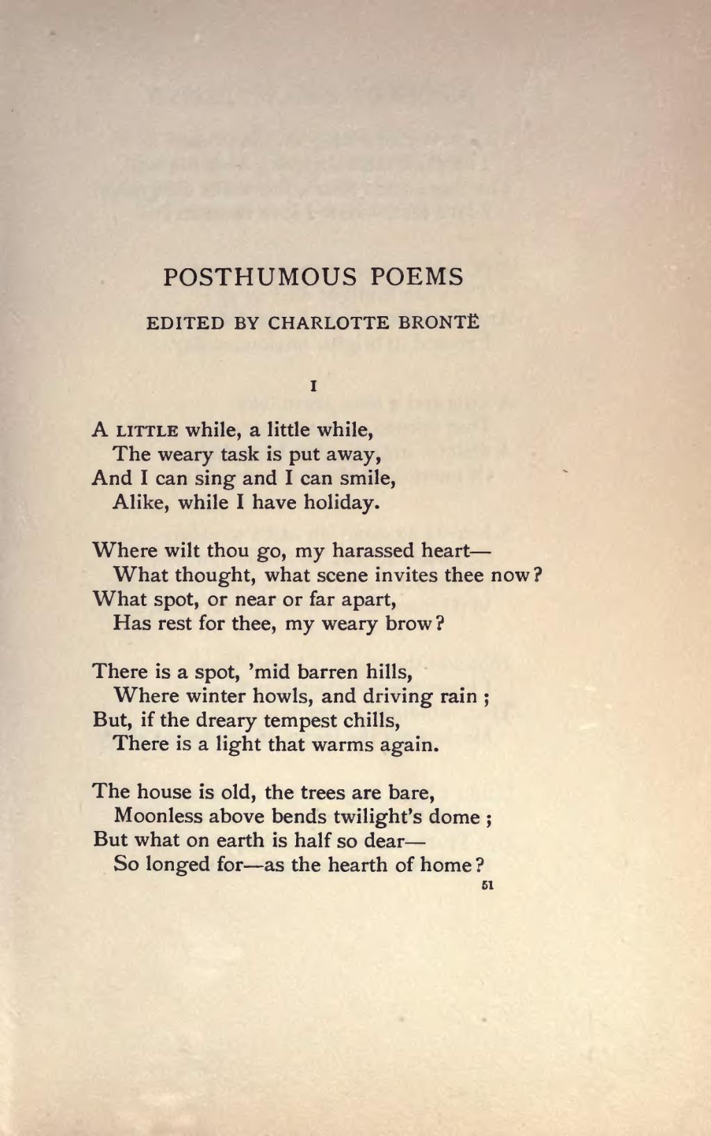 page the complete poems of emily bronte djvu 107 wikisource the
