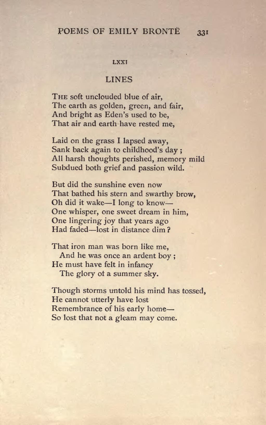 """Retrieved from """" https://en.wikisource.org/w/index.php?title=Page:The ...: en.wikisource.org/wiki/Page:The_complete_poems_of_Emily_Bronte.djvu..."""