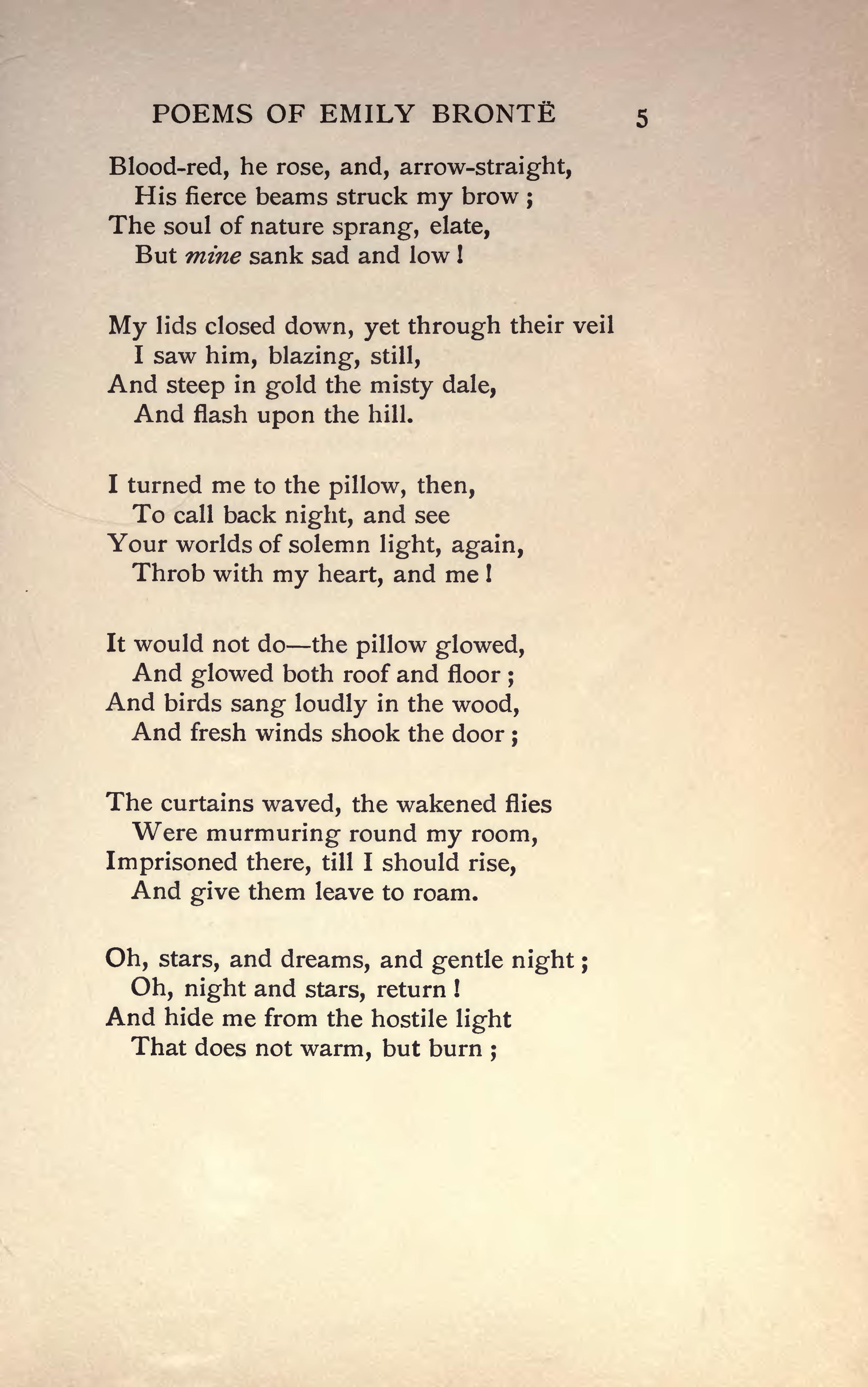 Page The Complete Poems Of Emily Bronte Djvu 59