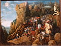 The conversion of Saint Paul, Pieter Brueghel the younger, undated, oil on canvas - Villa Vauban - Luxembourg City - DSC06601.JPG