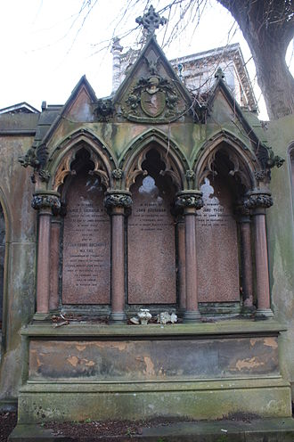 John Young Buchanan - The grave of John Young Buchanan, Dean Cemetery