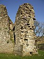 The guardrobe tower, Pendragon Castle - geograph.org.uk - 1804394.jpg