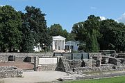 The ruins of the civil town of Aquincum and the Museum in Budapest.jpg
