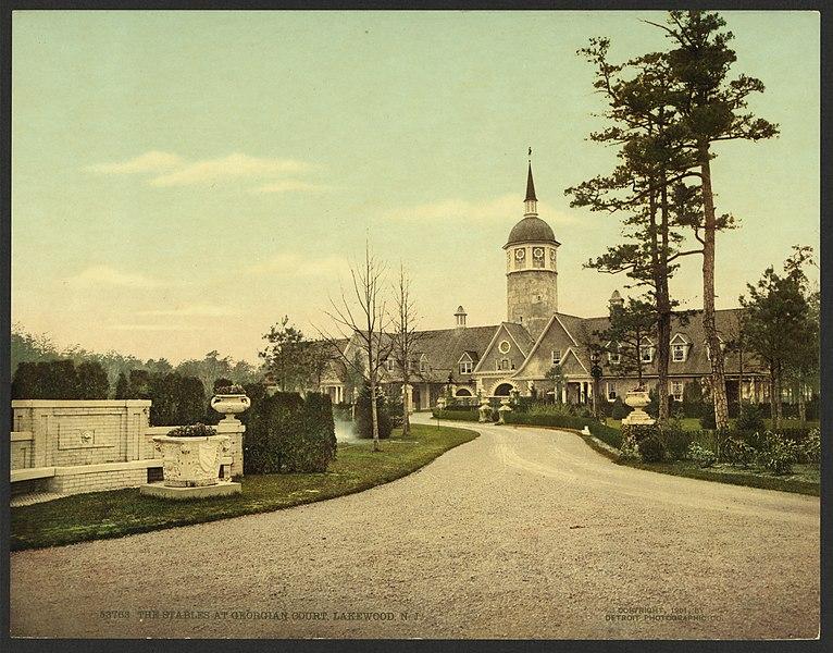 File:The stables at Georgian Court, Lakewood, N.J-LCCN2008679540.jpg