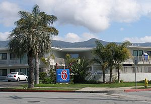 Motel 6 - The first Motel 6 in Santa Barbara, California, remains in business.